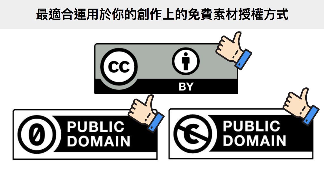 【創用CC】如何運用免費CC版權素材(CC免費音樂、CC免費圖片)