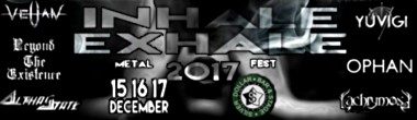 nhale Exhale Metal Fest 2017