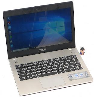 Laptop ASUS N46VZ Core i5 Second di Malang