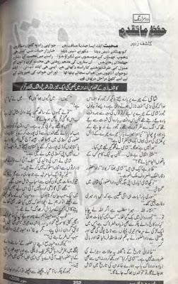 Hifaz e mataqadum novel by Kashif Zubair (Shami Taimoor series)