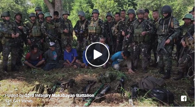 2tj0qr1 PHILIPPINE ARMY AT PNP SEIZED 6 HIGHPOWERED WEAPONS, CAS MONEY AND ARRESTED BIFF TERRORISTS IN A 1 HOUR CLASH AT MANGADEG VILLAGE...