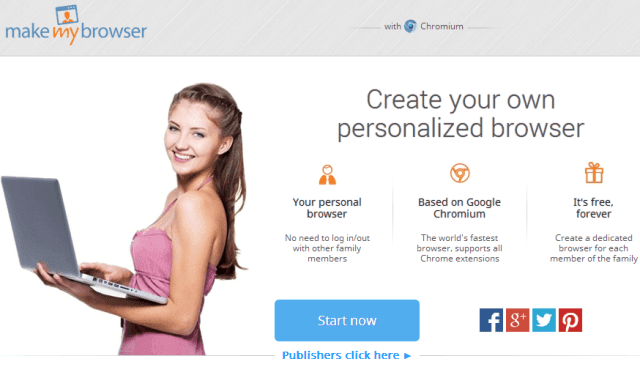 MakeMyBrowser - Create Your Own Free Personalized Browser