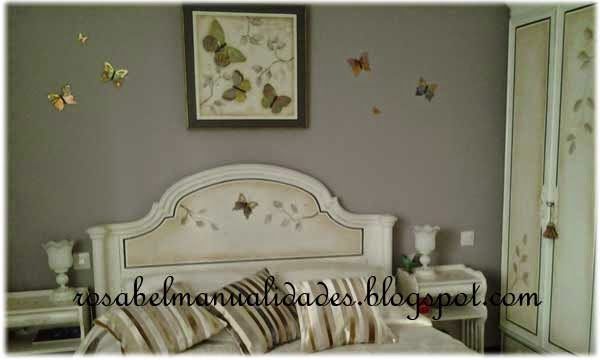 Rosabel manualidades muebles restaurados for Muebles felices