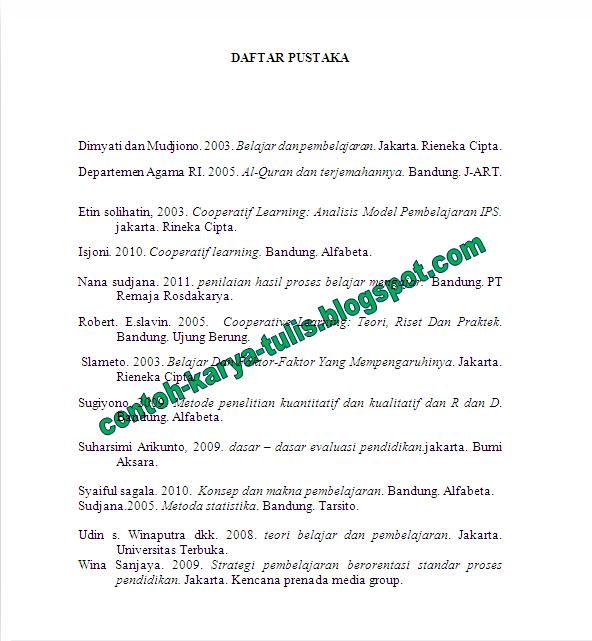 Best Contoh Daftar Isi Laporan Study Tour Ke Bandung Image Collection