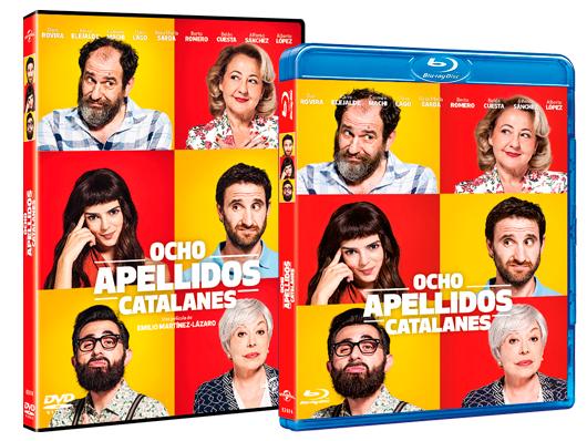 A la venta en DVD y Blu-ray 'Ocho apellidos catalanes'