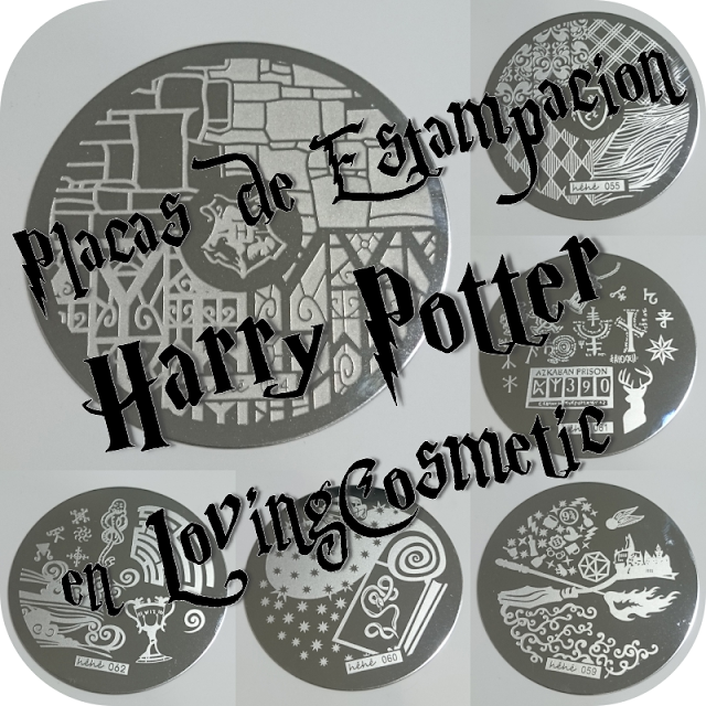 Harry Potter - Placas de Estampación