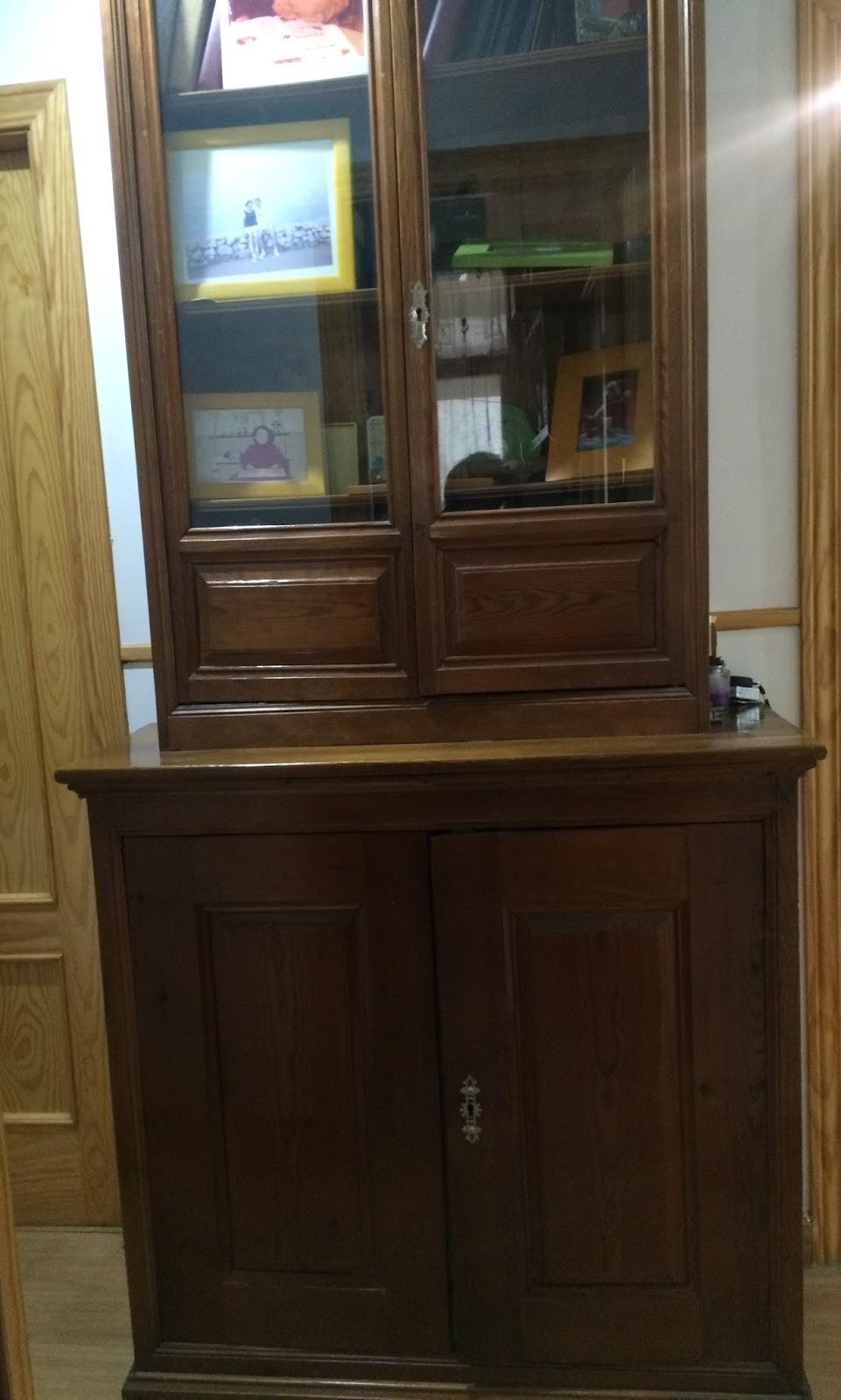 Restaurando mi viejo mueble for Mueble viejo