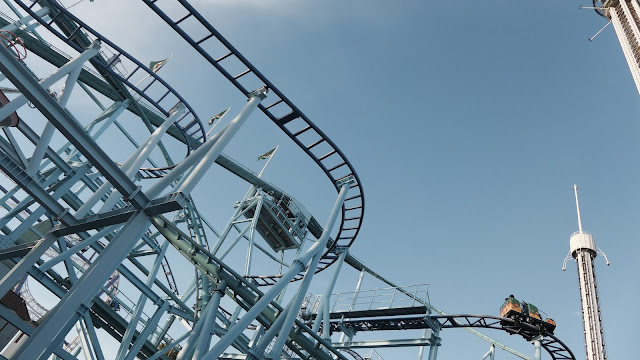 Photo of Roller Coasters at Grona Lund