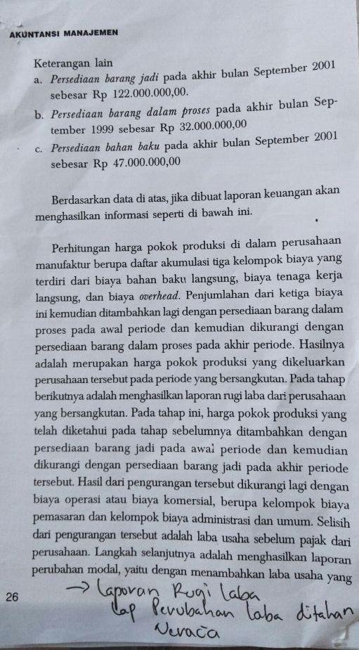Ani Susanti Contoh Soal Akuntansi Manajemen