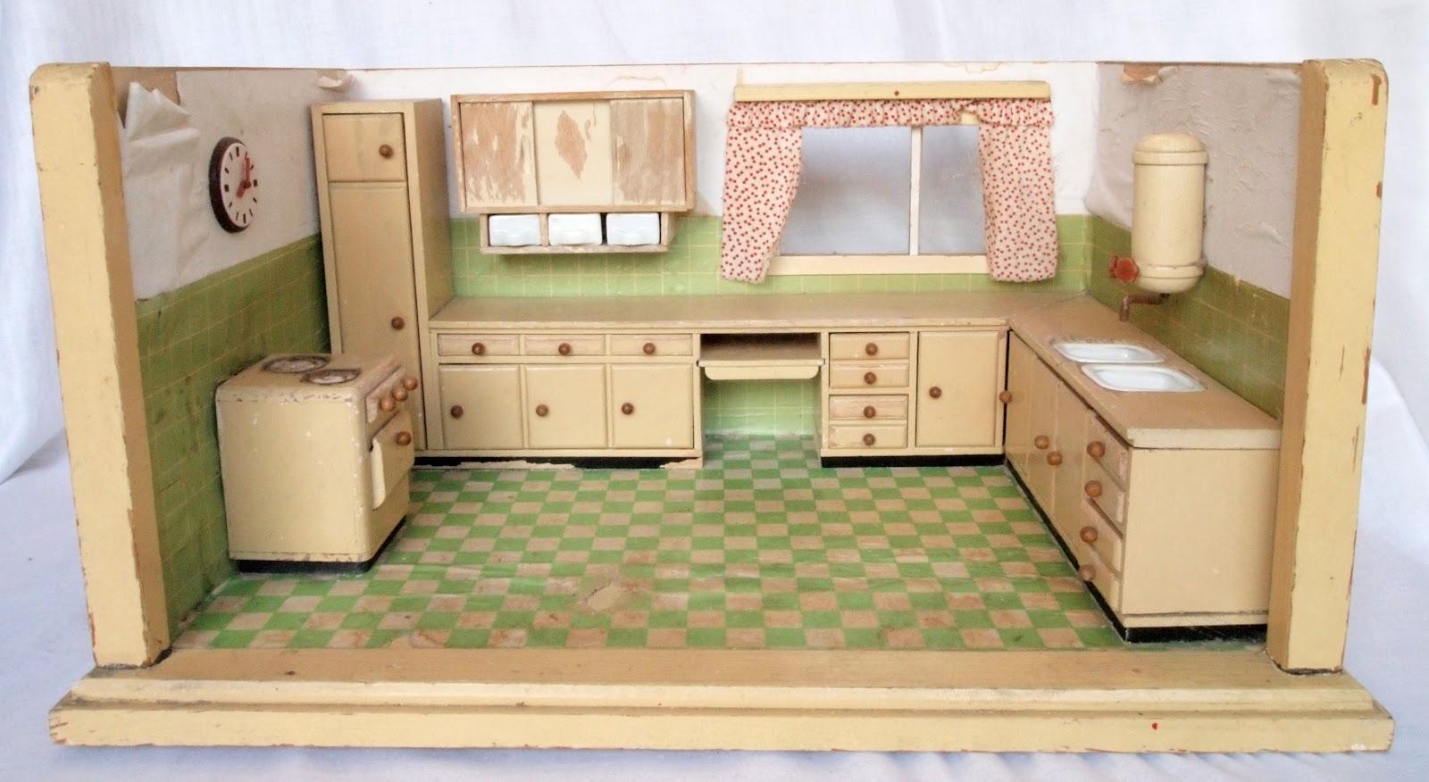 diePuppenstubensammlerin: Küchen - Paul Hübsch 1951 bis 1976 - kitchen