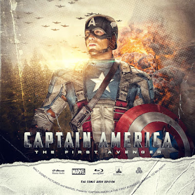 Label Bluray Captain America The First Avenger
