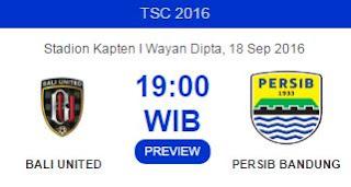 Prediksi Bali United vs Persib Bandung 18 September 2016