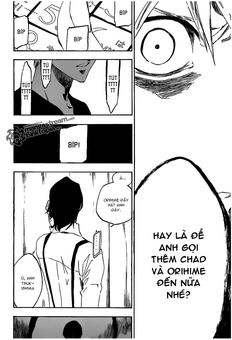 Bleach chapter 454 trang 8