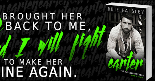 Release Blitz: Carter by Brie Paisley