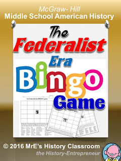 https://www.teacherspayteachers.com/Product/McGraw-Hill-American-HISTORY-The-Federalist-Era-BINGO-game-2593927