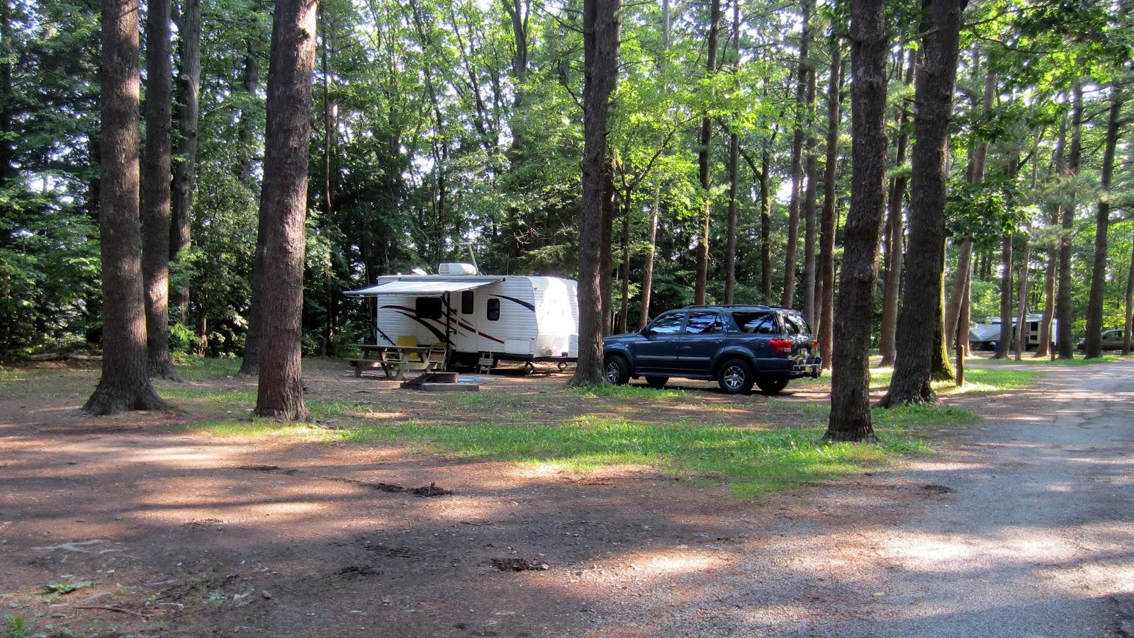 Sleeps Two Watkins Glen State Park