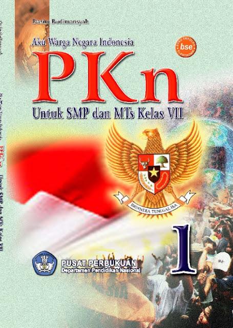 Download Buku Guru KTSP SMP Kelas 7 Aku Warga Negara Indonesia PKn 2