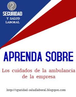 cómo cuidar una ambulancia