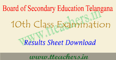 Sakshi TS SSC results 2017 download eenadu 10th result telangana