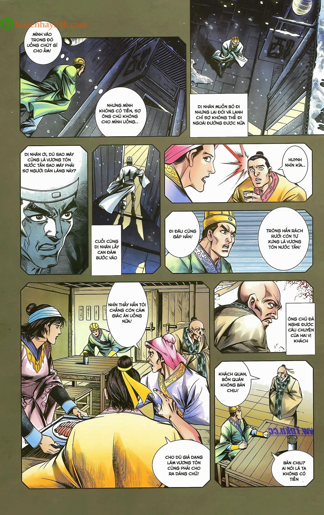 Tần Vương Doanh Chính chapter 29.1 trang 9