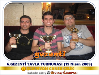 6.Gezenti Tavla Turnuvası
