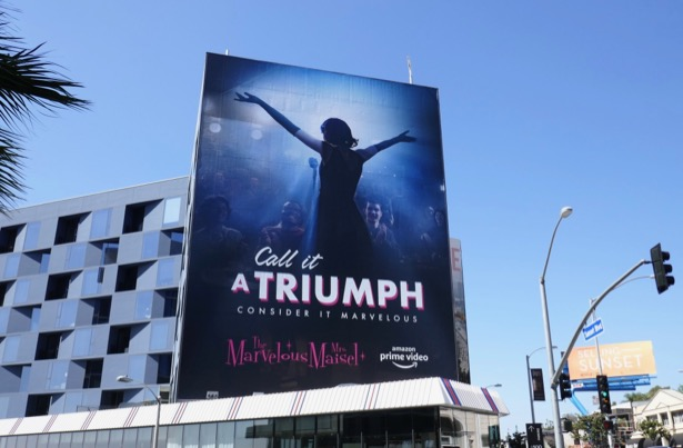 Marvelous Mrs Maisel season 2 Emmy FYC billboard