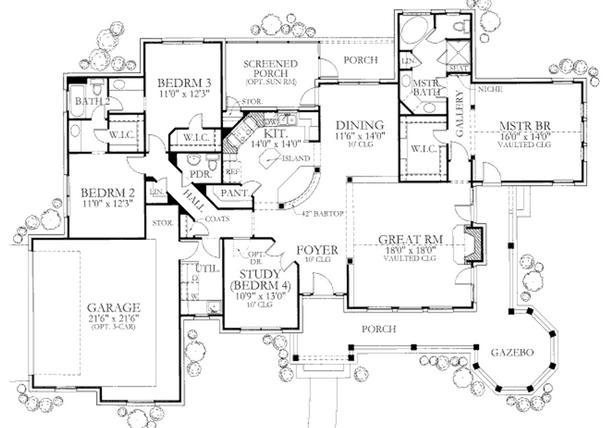 Planos de casas modelos y dise os de casas planos de for Casas de campo modernas con piscina