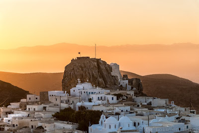 Hora-Amorgos-Cyclades-sunset