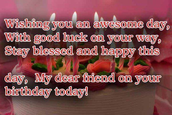 Birthday Wishes For Her Friend ~ Best birthday wishes for friend with images ewhat what to