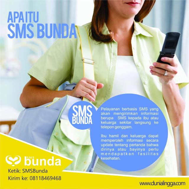 layanan berbasis sms yang akan mengirimkan informasi berupa sms kepada ibu