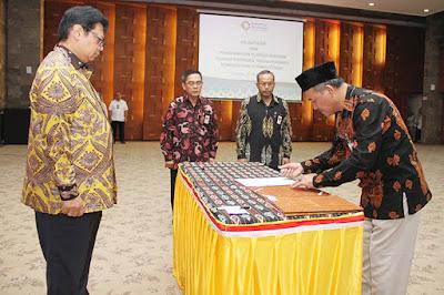 Pelantikan dan Pengambilan Sumpah Pejabat Eselon II di Lingkungan Kementerian Perindustrian