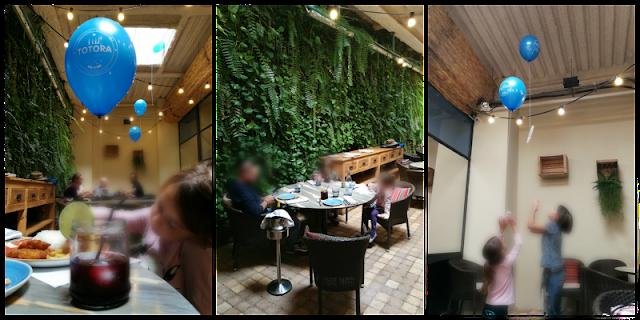 Restaurante Totora zona terraza