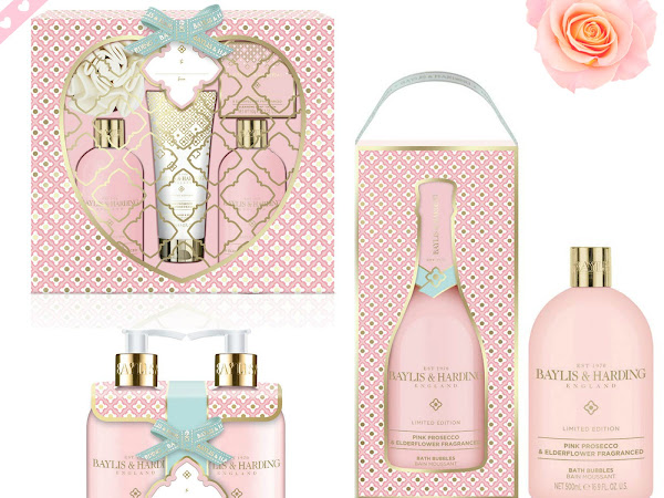 Valentines Day Gift Ideas | Baylis and Harding Pink Fizz and Elderflower Collection