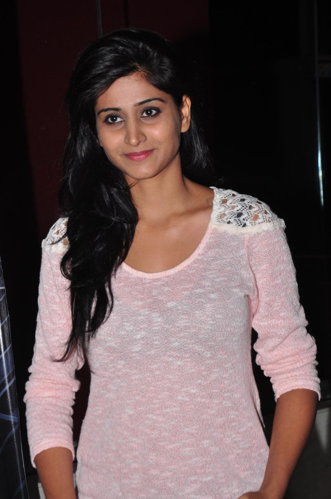 Shamili looks super cute young cool and beautiful in Transparent Tank top and Denim Jeans