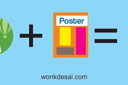 Keunggulan Desain Grafis Menggunakan CorelDRAW, Wujudkan Hasil Poster Mengesankan