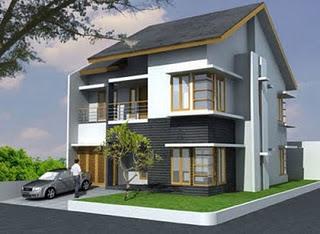 Rumah Minimalis  Gambar Desain Rumah Minimalis Modern