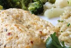وصفة السمك الفيليه البلطى بالمايونيز والجبن الباراميزان