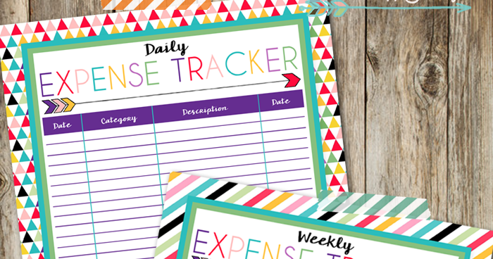 I Should Be Mopping The Floor Free Printable Expense Trackers