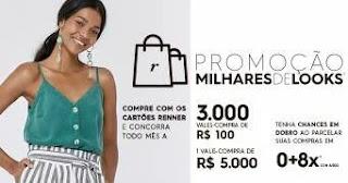 Cadastrar Promoção Cartões Renner Milhares de Looks - Vale-Compra 5 Mil Reais