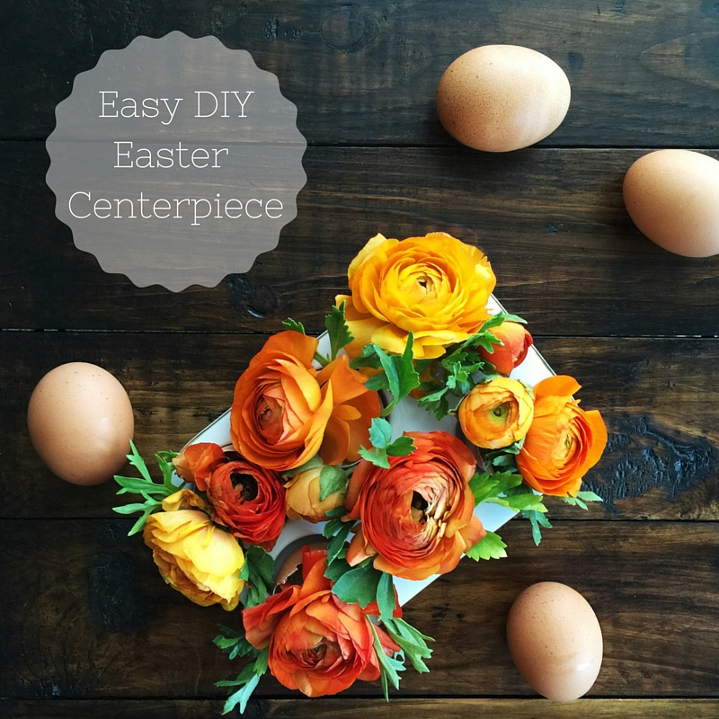 Easy DIY Easter Centerpiece