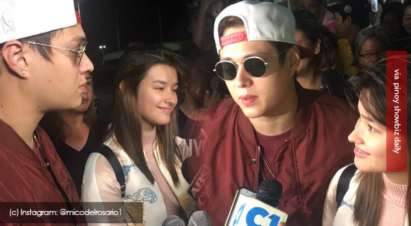Liza Soberano and Enrique Gil fly to South Korea to shoot for the movie