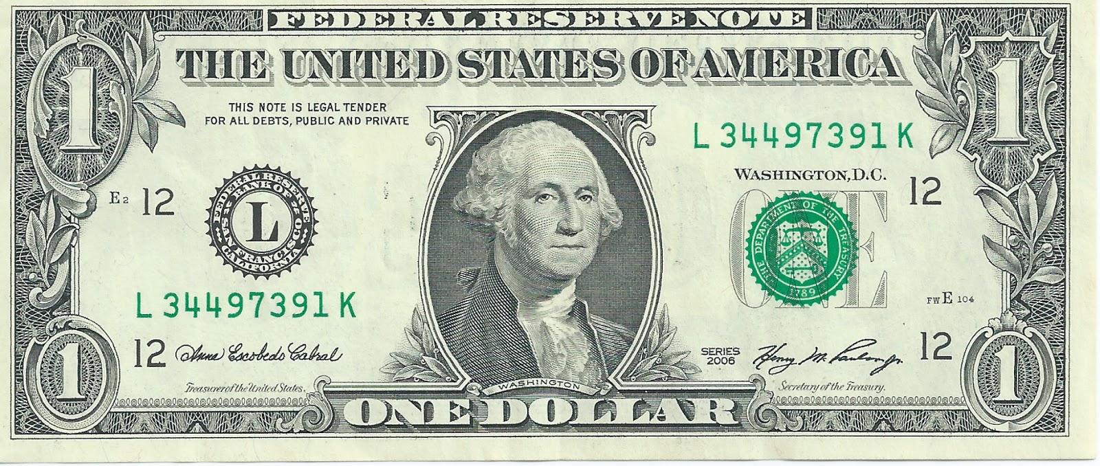 1 United States Dollar Usd 2006 San Francisco