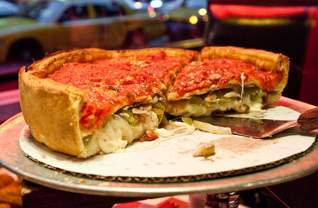 Pizza da  Giordano's em Orlando