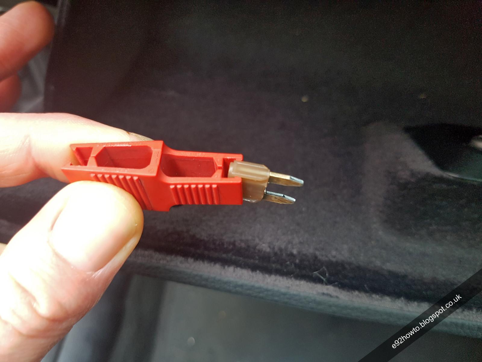 medium resolution of fuse box removal e92 wiring diagram datasource fuse box removal e92 fuse box removal e92