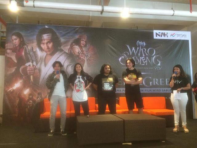 Pemeran 'WIRO SABLENG' Meet and Greet di Kota Makassar