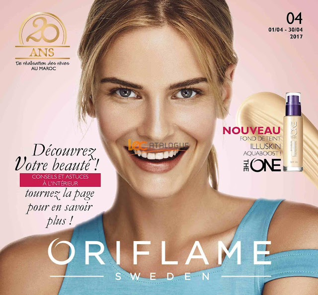 catalogue oriflame avril 2017