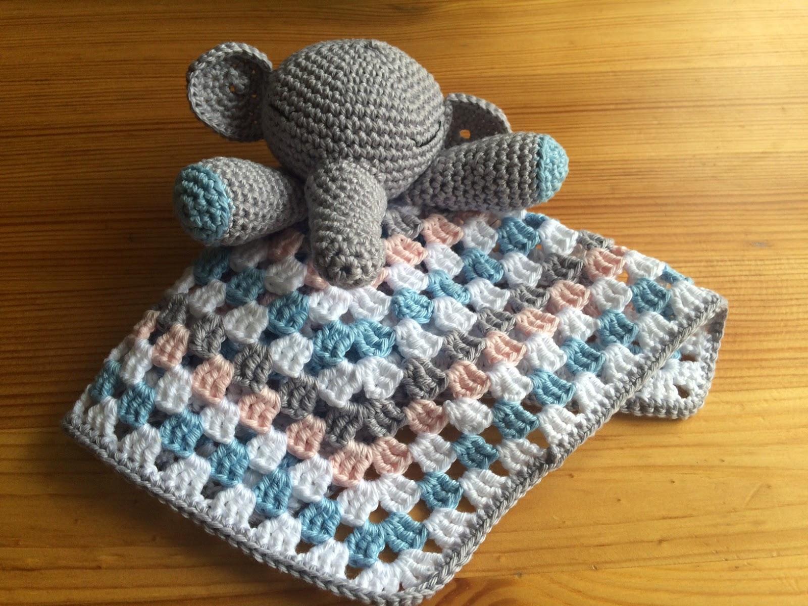 Realisation En Crochet D Un Doudou Elephant Pour Bebe De