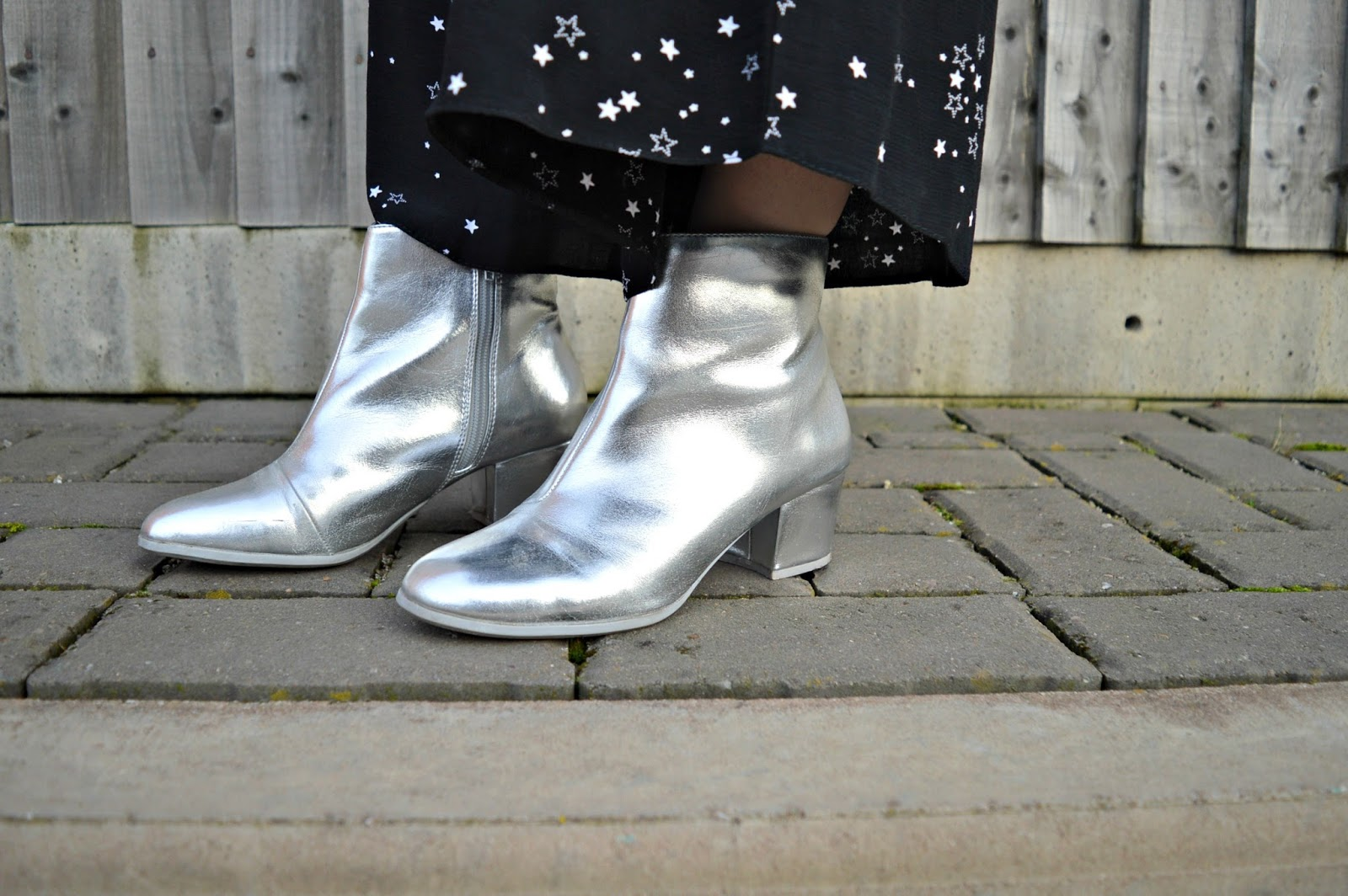 Primark silver boots
