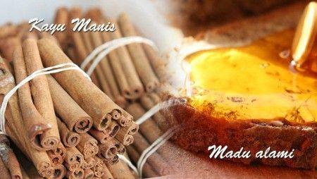 Gambar Kayu manis dan madu