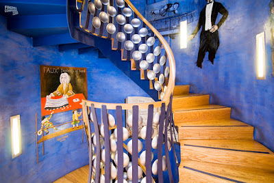 The Magic Circle, stairwell, London